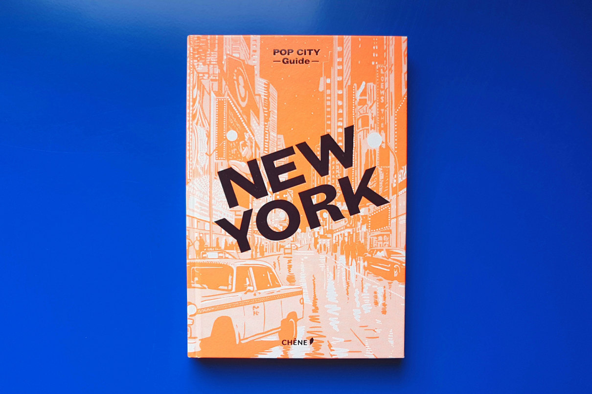 Pop City NY book cover, design by Praline