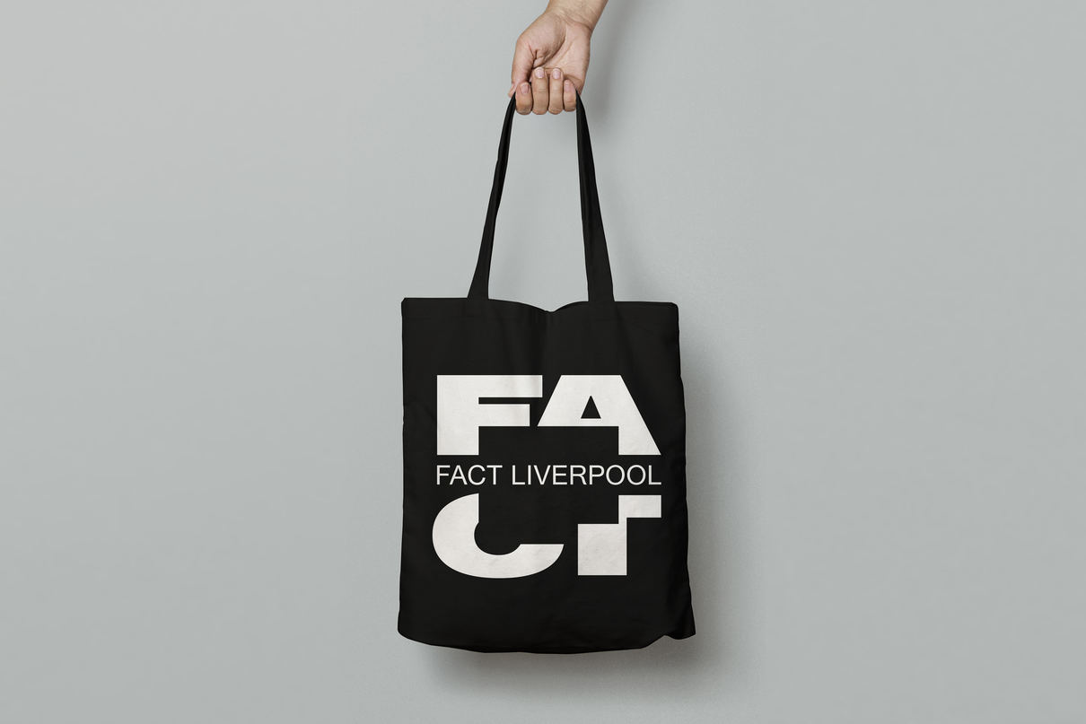 FACT Liverpool tote bag, design by Praline