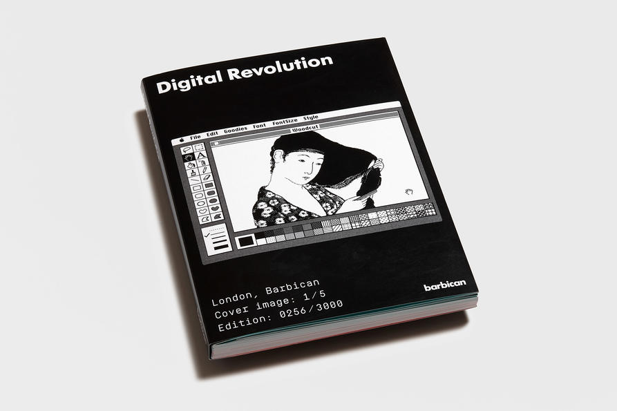 Digital Revolution cover 1, design by Praline